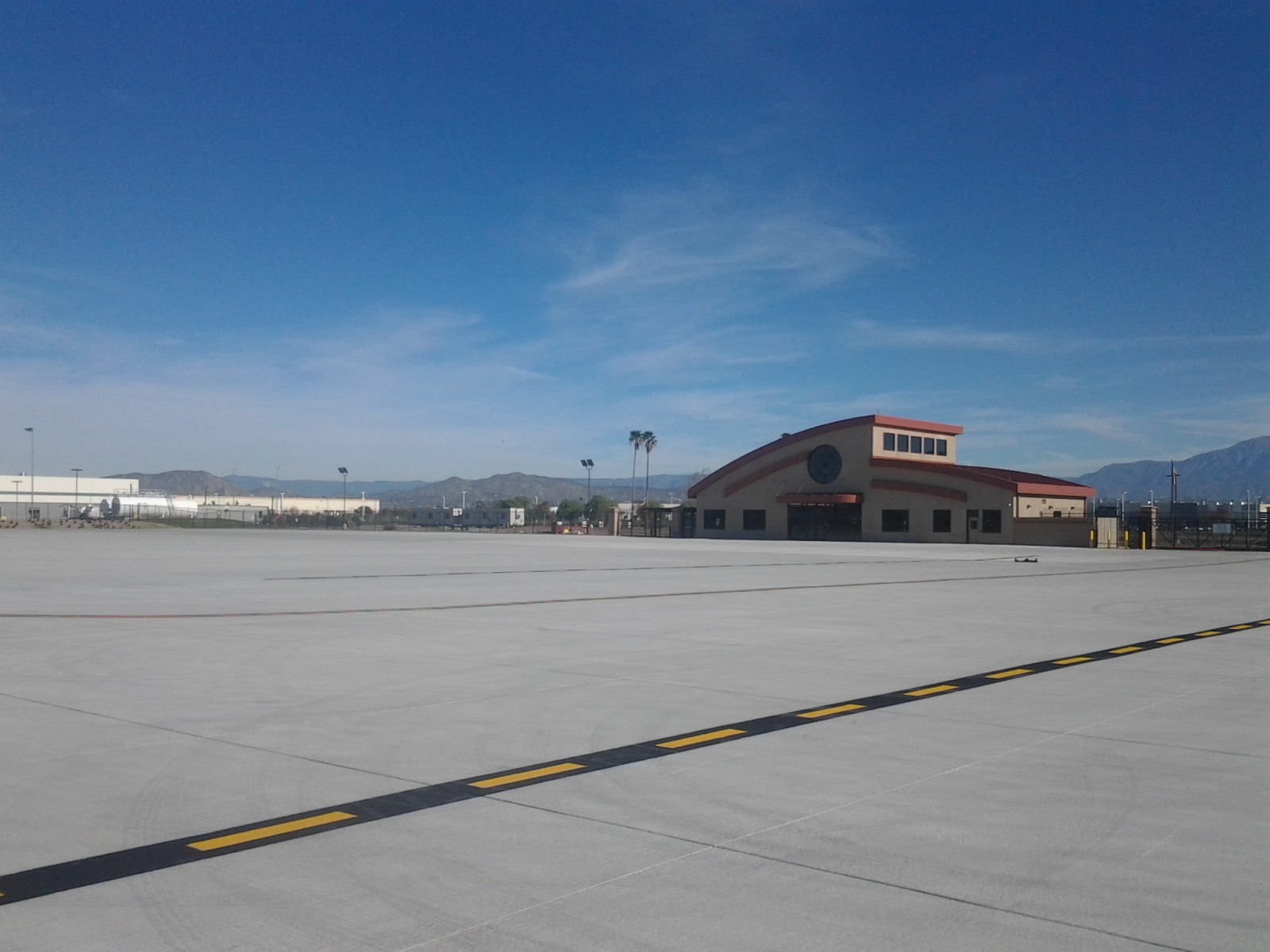 Apron View of Terminal